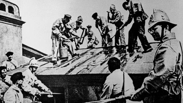 Композитор Д.Шостакович в дни блокады Ленинграда