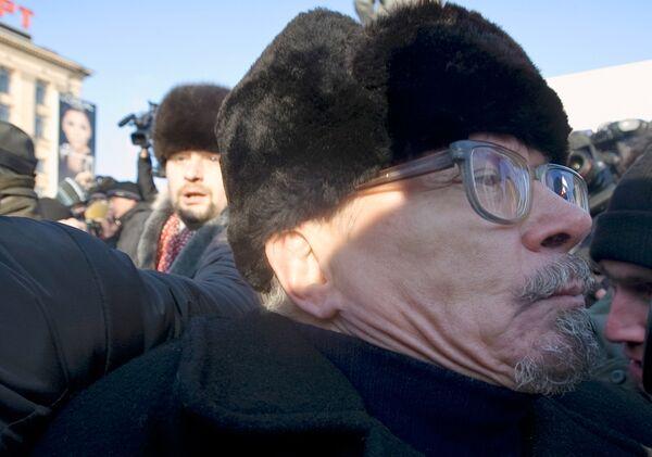 В центре Москвы задержан лидер национал-большевиков Эдуард Лимонов