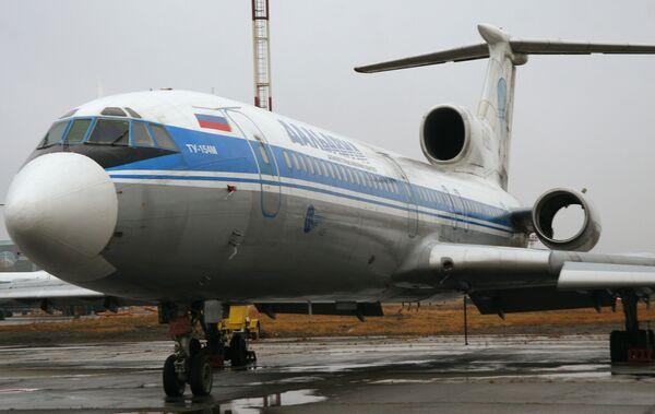 Самолет авиакомпании ОАО «Дальавиа»