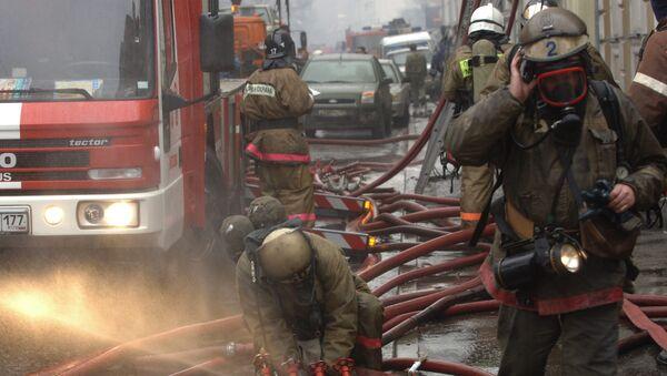 Причиной пожара в МАИ могло стать замыкание электропроводки