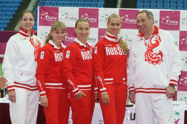 Сборная России по теннису. Архив