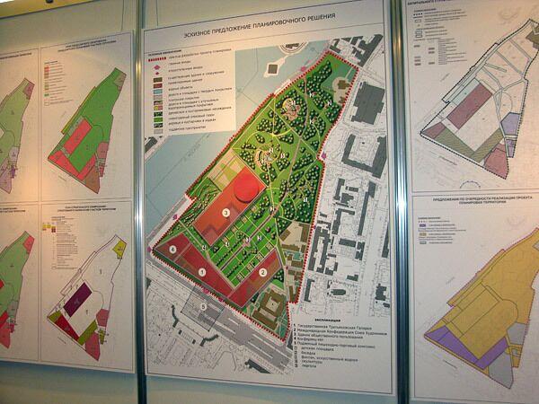 План нового здания Третьяковской галереи