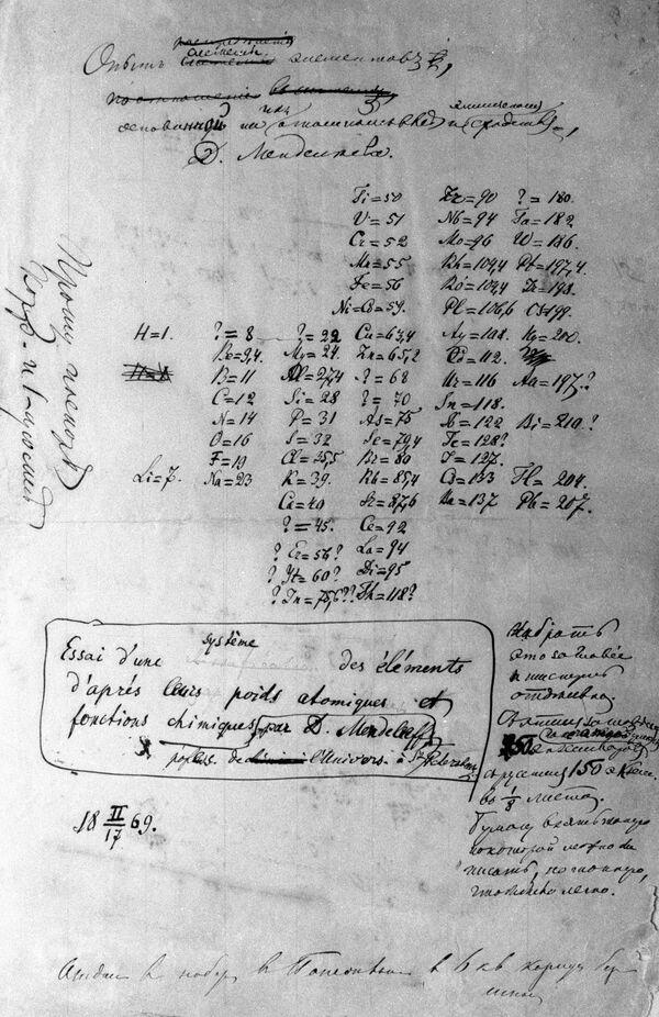 Ученые надеются расширить таблицу Менделеева до 150 элементов
