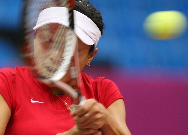 Китайская теннисистка Янь Цзы