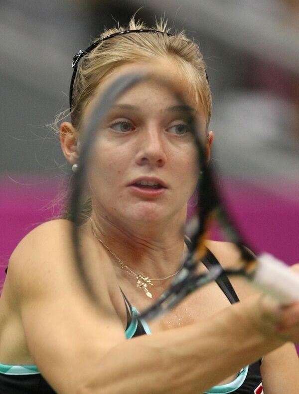 Российская теннисистка Анна Чакветадзе