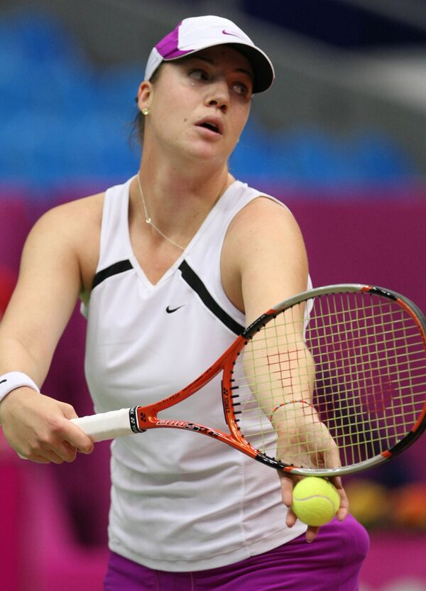 Российская теннисистка Алиса Клейбанова
