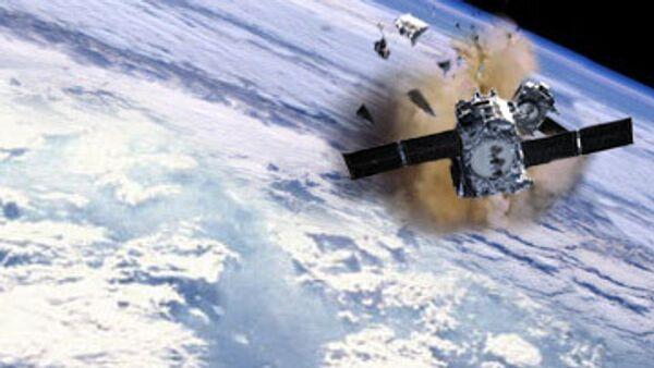 ООН: Аппаратам на орбите угрожают 300 тыс обломков космического мусора
