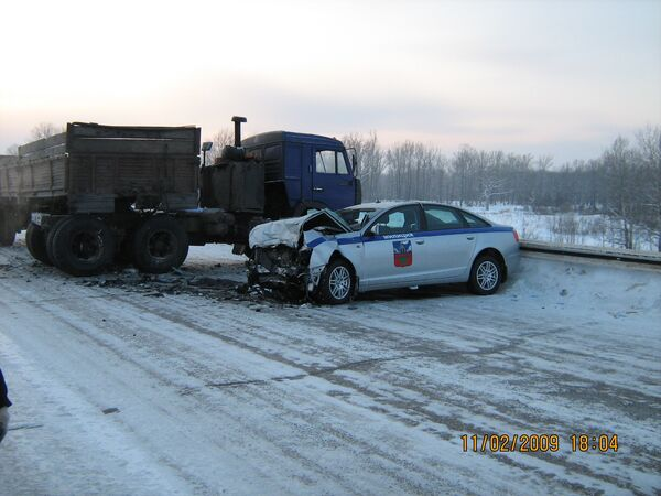 ДТП в Алтайском крае с участием кортежа Амана Тулеева