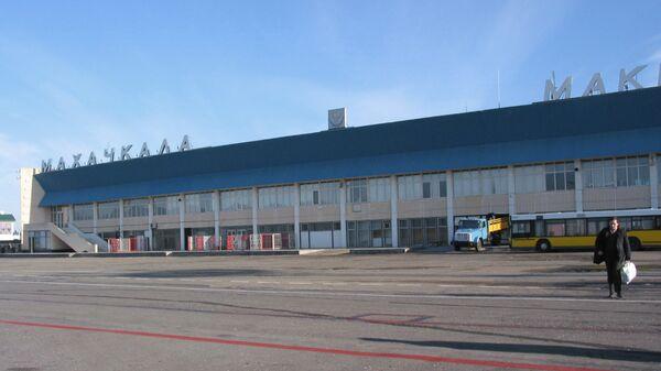 В аэропорту города Махачкалы. Архивное фото