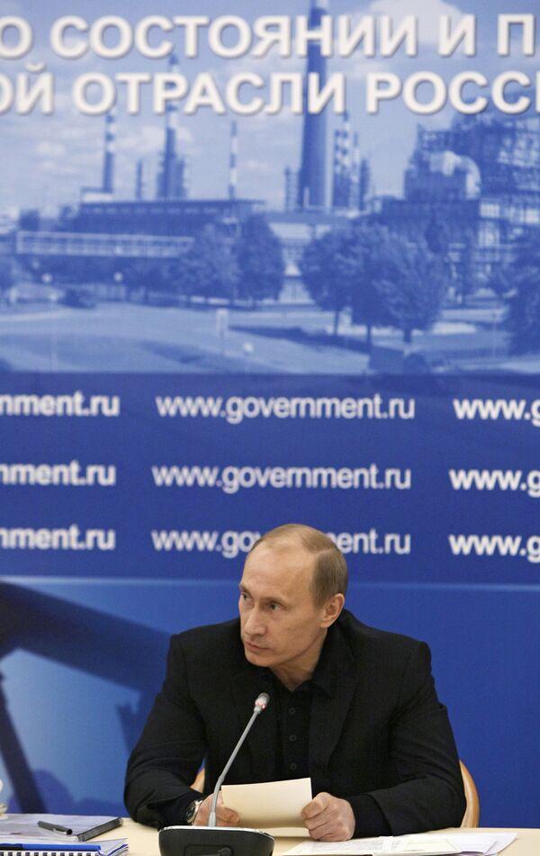12 февраля под руководством премьер-министра Владимира Путина прошло выездное совещание правительства с представителями отечественной нефтянки