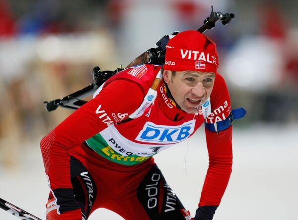 Норвежец Оле-Эйнар Бьорндален