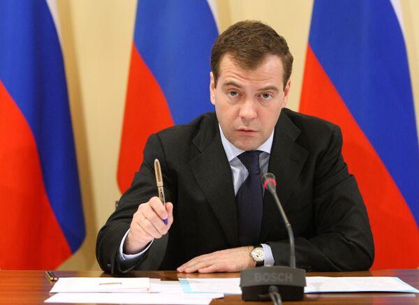 Медведев встретится с представителями своего кадрового резерва