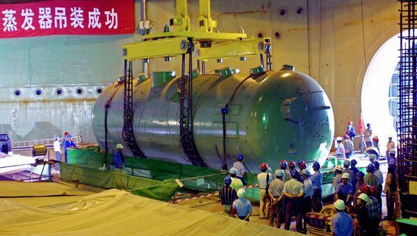 Строительство Тяньваньской АЭС в Китае. Архивное фото