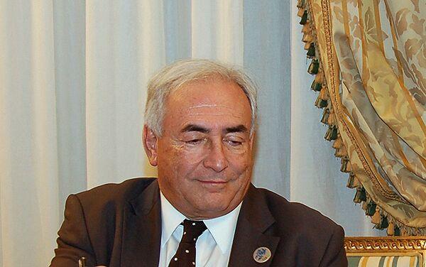 Генеральный директор Международного валютного фонда Доминик Стросс-Кан