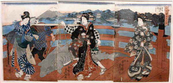 Выставка Японская гравюра в Москве