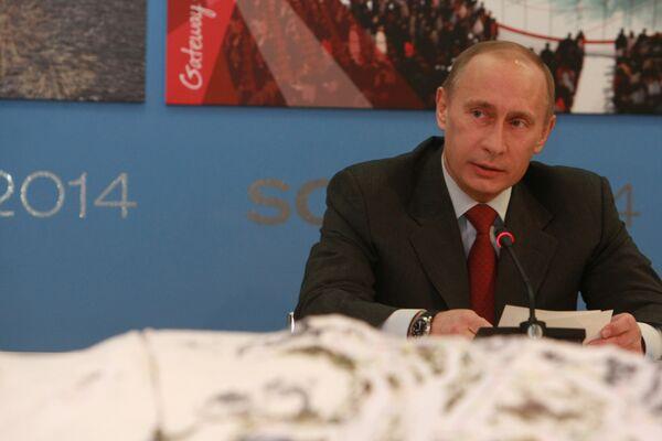 Путин проводит заседание Совета по развитию физкультуры и спорта