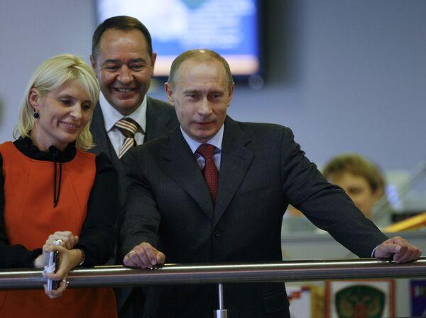 Премьер-министр РФ В.Путин посетил агентство РИА Новости