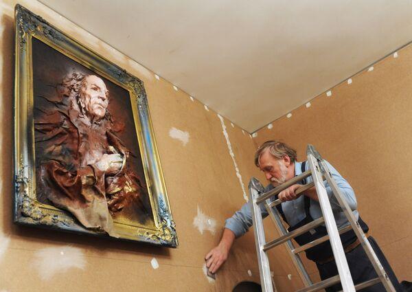 Завершаются ремонтно-реставрационные работы в мемориальном центре Дом Гоголя на Никитском бульваре