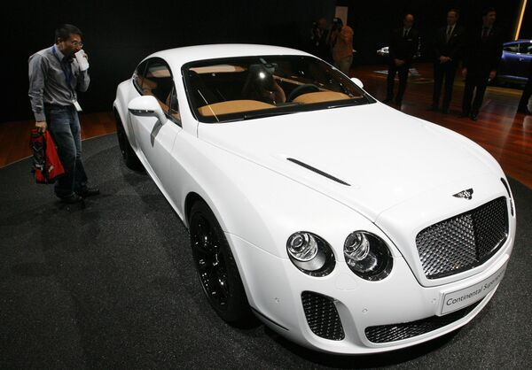 Bentley Continental на Женевском международном автосалоне