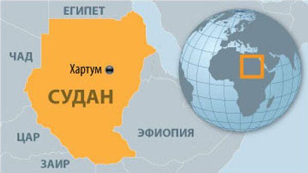Судан карта
