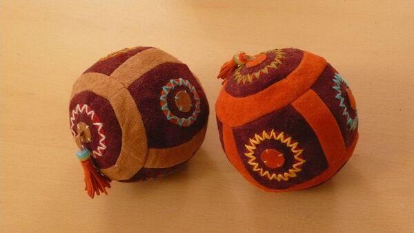 Чукотка. Фото эскимосского мяча.