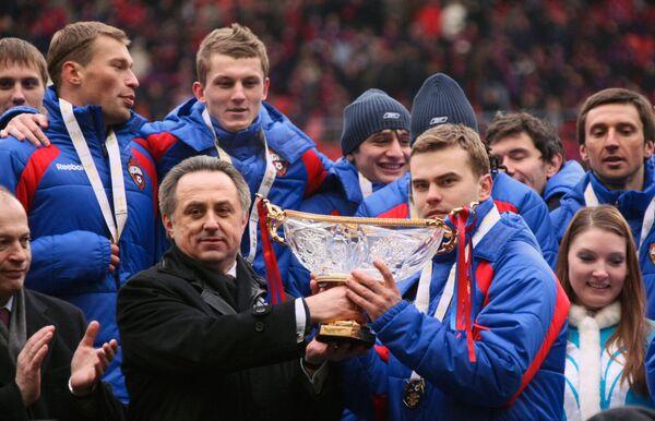 Суперкубок России по футболу. Архив