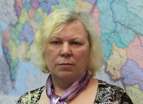 Галина Глухова, мать сержанта Российской армии Александра Глухова