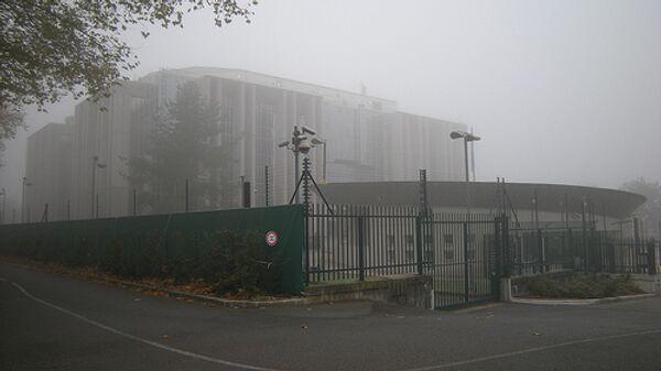 Здание штаб-квартиры Интерпола в Лионе