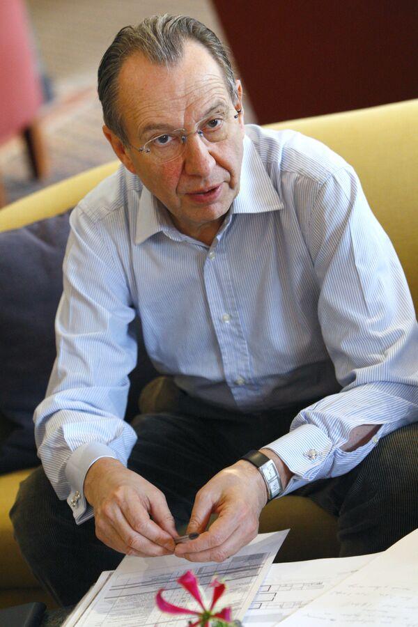 Куратор основного проекта Третьей Московской биеннале современного искусства Жан-Юбер Мартен