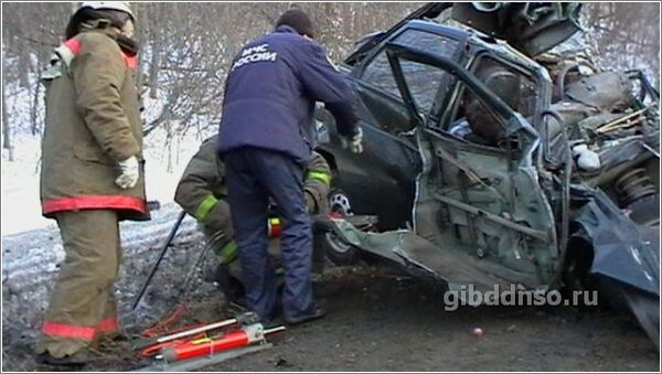 ДТП в Новосибирской области на трассе М-53