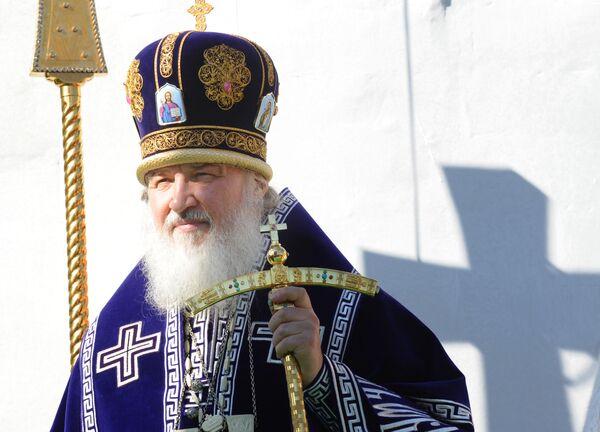 Патриарх Кирилл призвал верующих к ответственности за страну