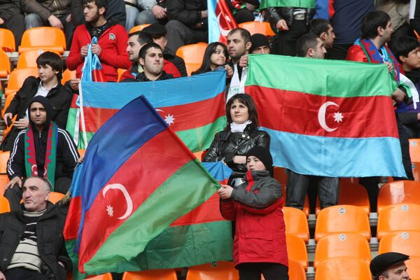 Болельщики сборной Азербайджана