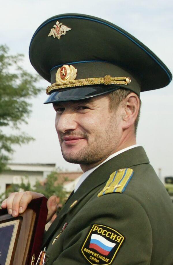 Командир батальона Минобороны России Восток Сулим Ямадаев