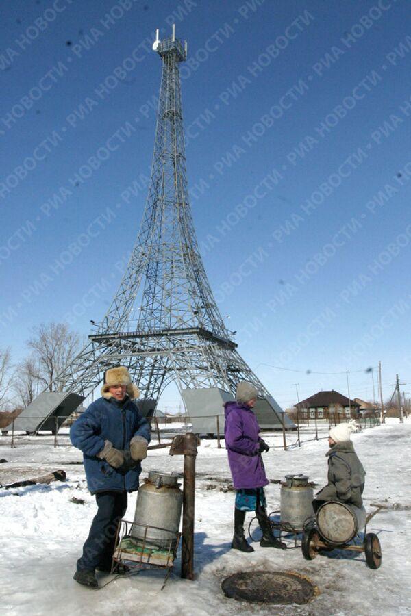 В селе Париж Нагайбакского района Челябинской области