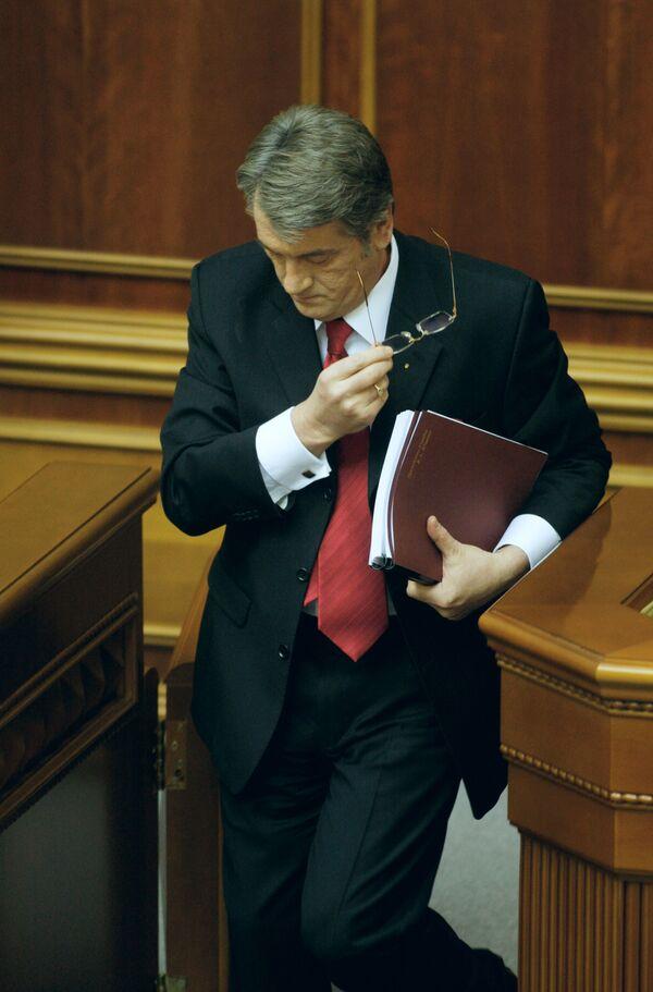 Ющенко уверен в победе своей партии на следующих парламентских выборах