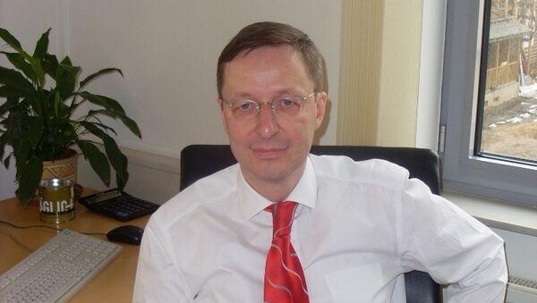 Глава Российско-германской внешнеторговой палаты Михаэль Хармс. Архив