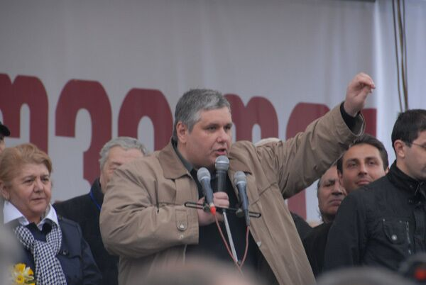 Бывший соратник грузинского президента по революции роз Коба Давиташвили. Архив