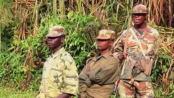 Солдаты ДР Конго
