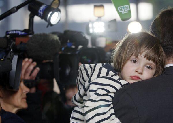 Трехлетняя Элиза Андре-Беленькая в Марселе