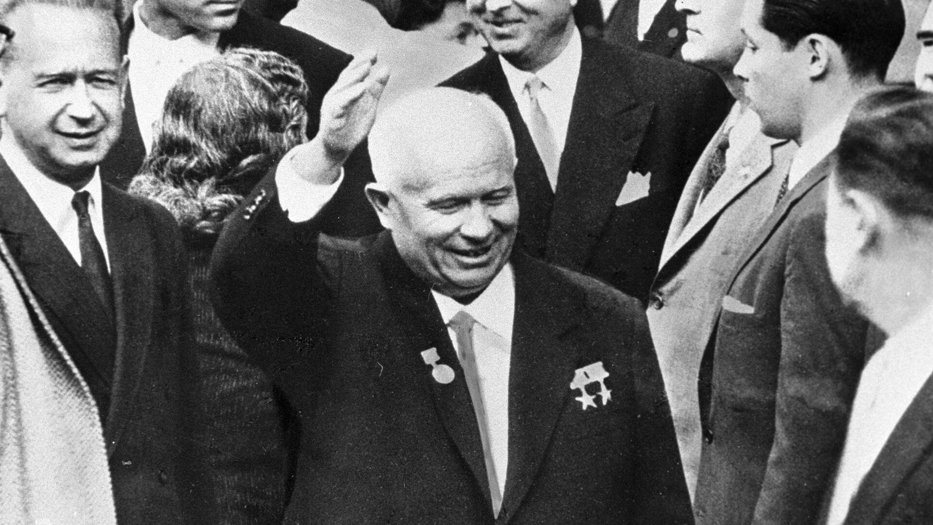 Хрущев после выступления в ООН - РИА Новости, 1920, 25.02.2021