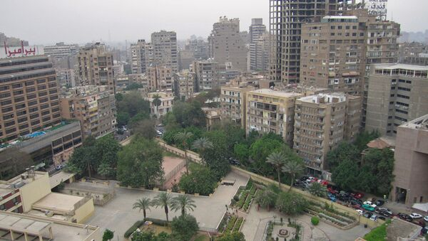 На одной из улиц Каира. Архивное фото