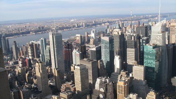 Город Нью-Йорк. Архивное фото