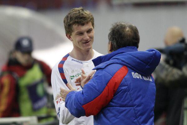 Артур Зико (справа) и Томаш Нецид