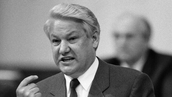 Народный депутат СССР Ельцин