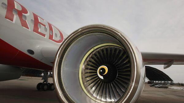 Церемония передачи самолета Ту-204 авиакомпании Red Wings
