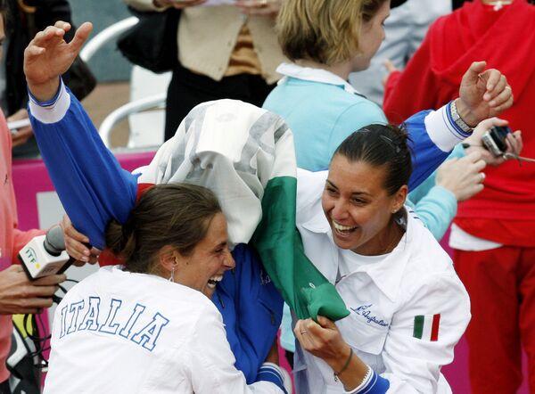 Сборная Италии по теннису