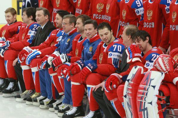 Сборная России по хоккею. Архив