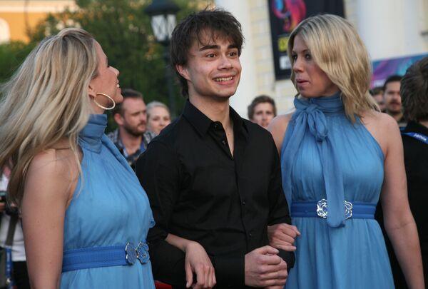 Александр Рыбак (Норвегия) на официальном открытии конкурса Евровидение-2009 в Евродоме