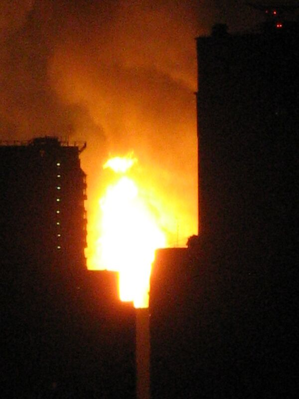 Взрыв газа на юго-западе Москвы