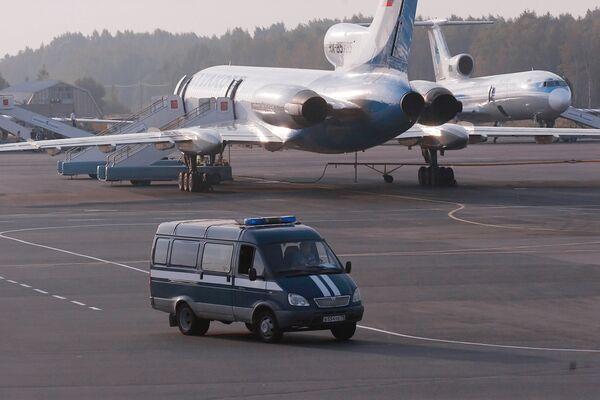 Самолет ТУ-154. Архив